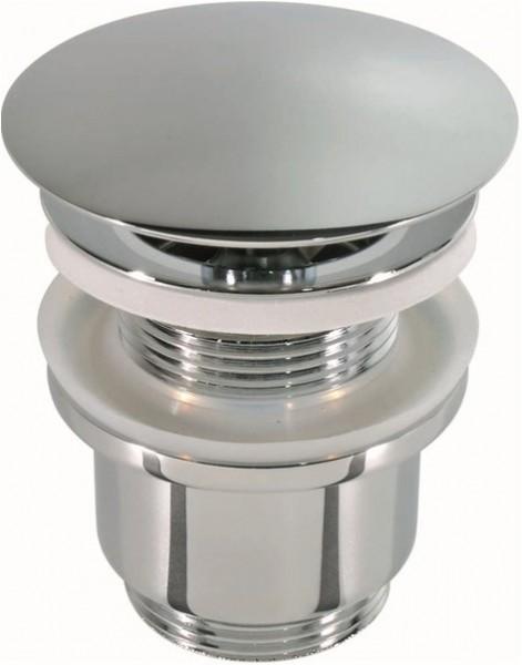 Ablaufventil 6104 - Abflussventil aus massivem Messing verchromt poliert, Abflussgarnitur Ablaufgarnitur Fachhändler-Qualität Abflussstopfen Foto
