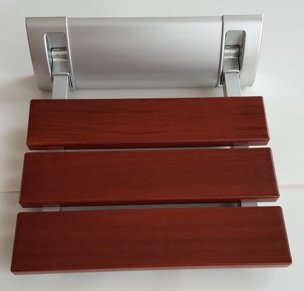 "Design Duschsitz ""Balata Highline Deluxe"" - Alu-Halterung, hohe Belastung 150 kg"