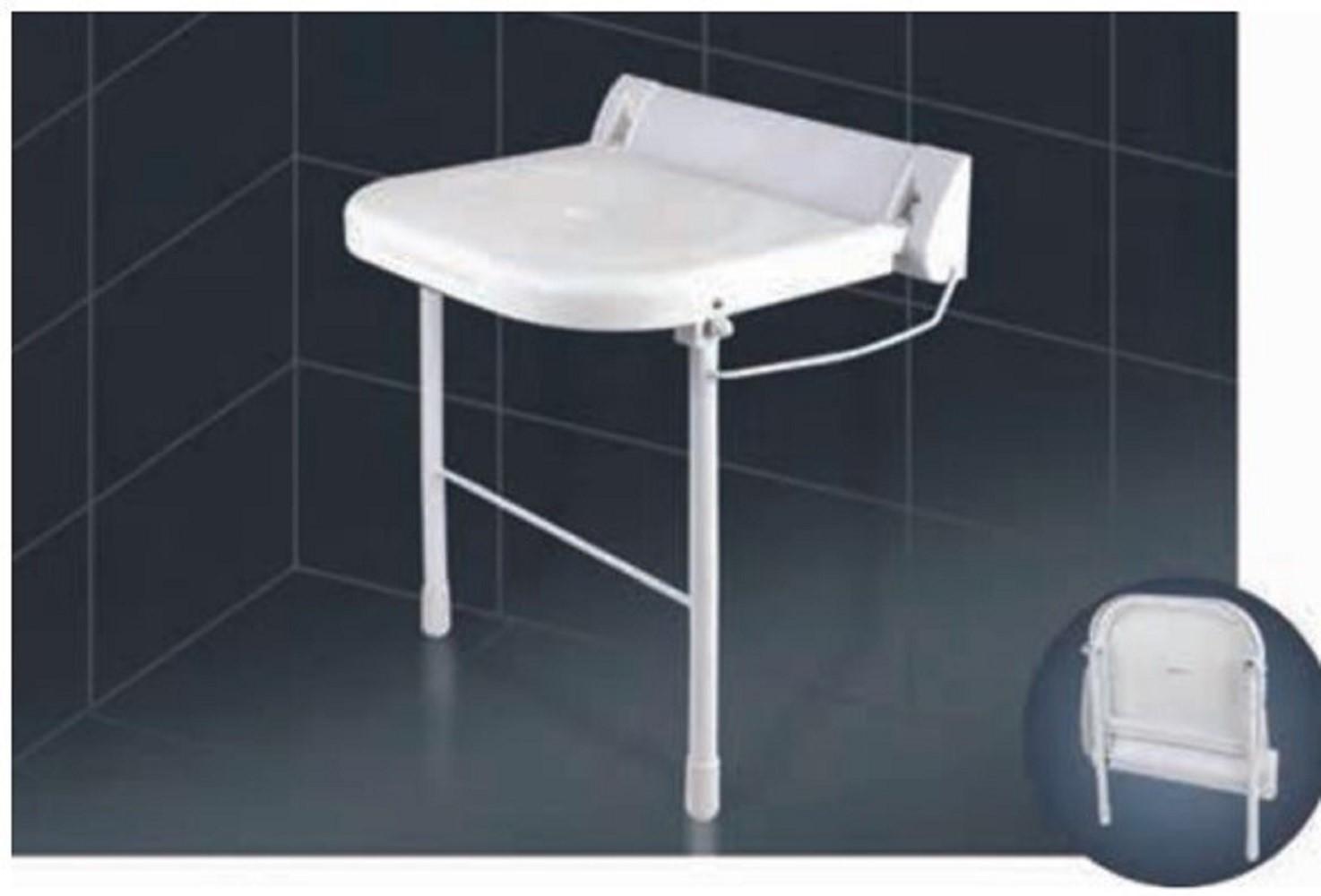 Duschklappsitz mit Stützfüßen Weklas