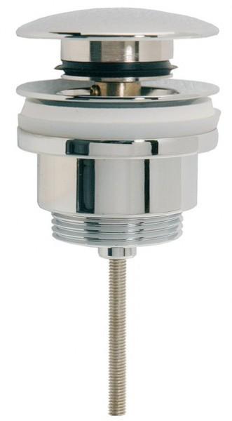 Design Ablaufventil Ablaufgarnitur Push-Up 7010 mit / ohne Überlauf massiv Messing verchromt