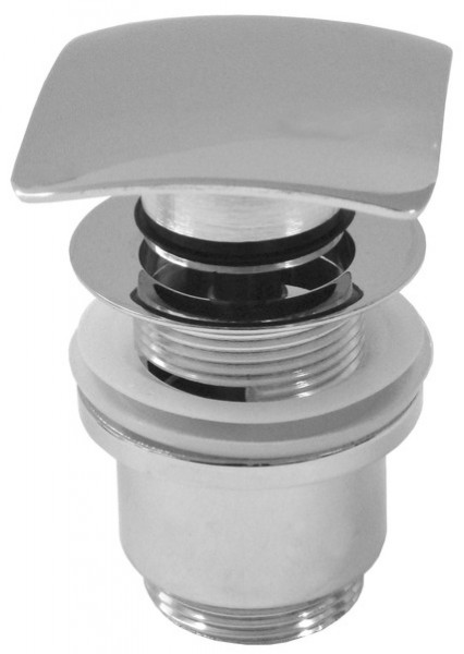 Design Ablaufventil, Ablaufgarnitur Quattro Push-Up mit Überlauf Nr. 2210