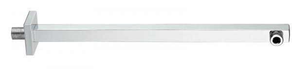 Wandarm für Duschkopf, eckig 400 mm Länge, Brausearm für Brausekopf Duschkopf Kopfbrause Regenbrause