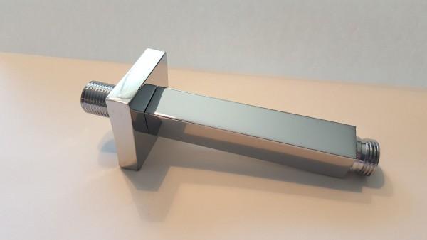 Brausearm eckig 12,5 cm 125 mm: Brausedusche Duschbrause Regendusche ZFB 22